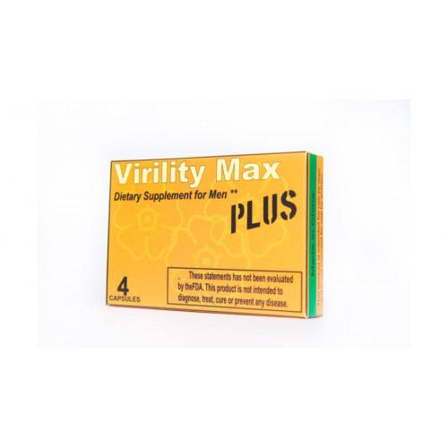 Virility Max Plus Kapszula Férfiaknak 4db